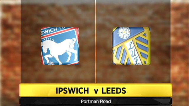Ipswich v Leeds: Watch a Live Stream of the Championship match (24/08/2013)