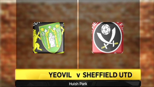 Yeovil 0-1 Sheffield United