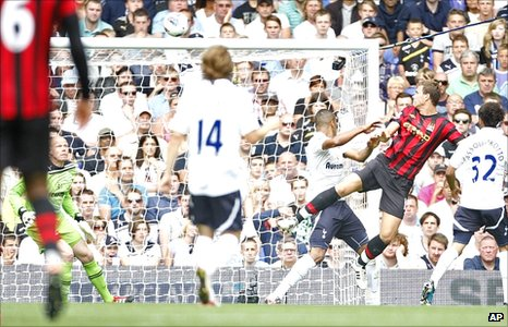 Edin Dzeko heads City&#039;s second