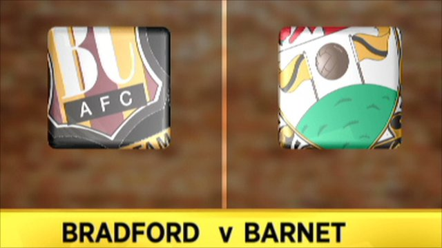 Bradford 4-2 Barnet
