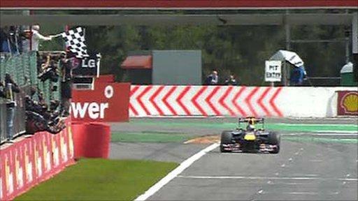 Belgian Grand Prix - highlights