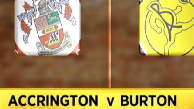 Accrington 2-1 Burton