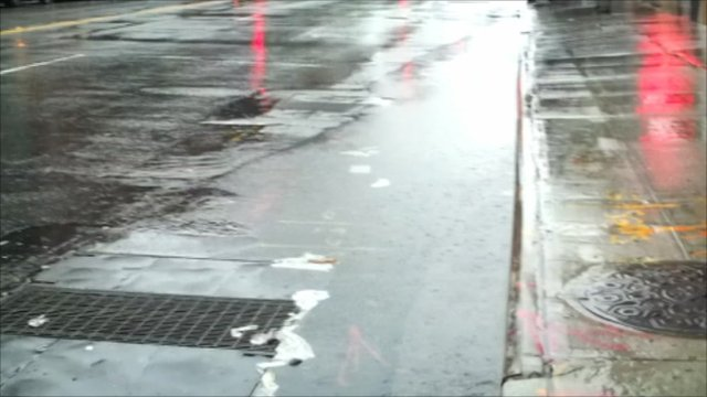 Wet road in New York. Copyright: Richard Lai
