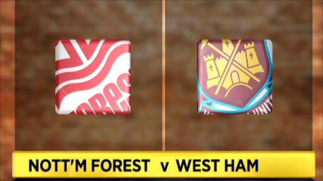 Nott'm Forest 1-4 West Ham