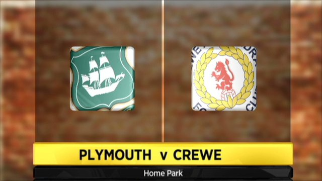 Plymouth 0-1 Crewe