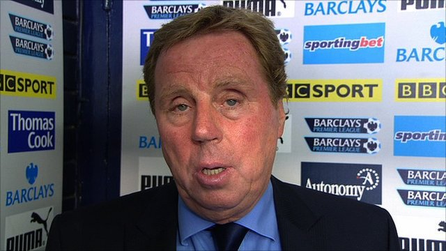Tottenham Hotspur boss Harry Redknapp
