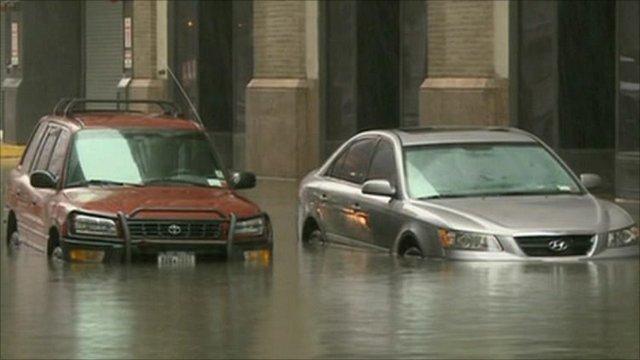 Irene storm flooding