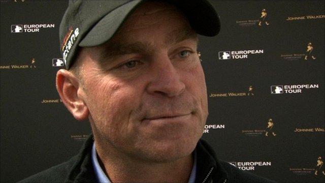 Danish golfer Thomas Bjorn