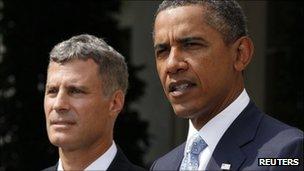 Alan Krueger and President Obama