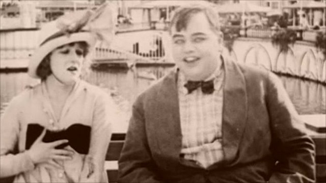 "Roscoe ""Fatty"" Arbuckle in Coney Island"