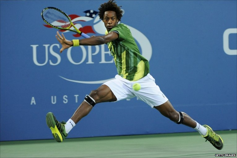Gael Monfils Dive Seventh Seed Gael Monfils is