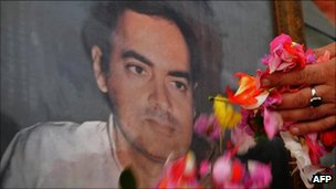 A tribute to Rajiv Gandhi in August 2009