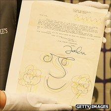 John Lennon letter held by Christie's employee
