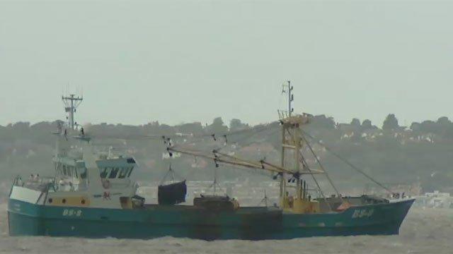 A dredger