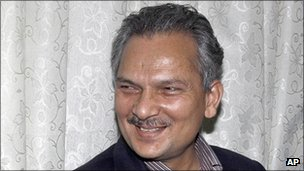 Prime Minister Baburam Bhattarai