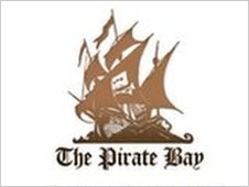 The Pirate Bay website