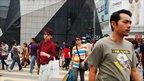 People shopping in Kuala Lumpur