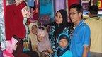 A Malaysian family shop for headscarves