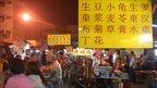 A Chinese night market in Kuala Lumpur