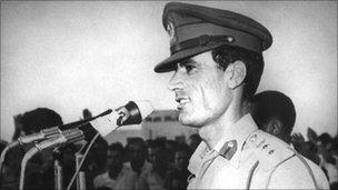 Col Muammar Gaddafi