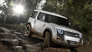 Land Rover DC100 concept car