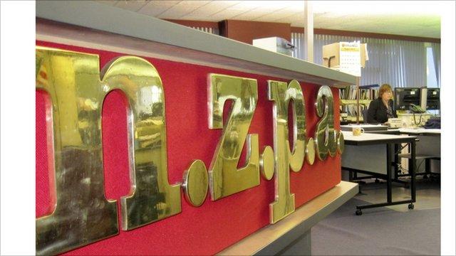New Zealand Press Association office