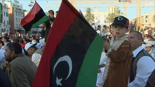 Libyans celebrate Eid al-Fitr in newly renamed Martyr's Square