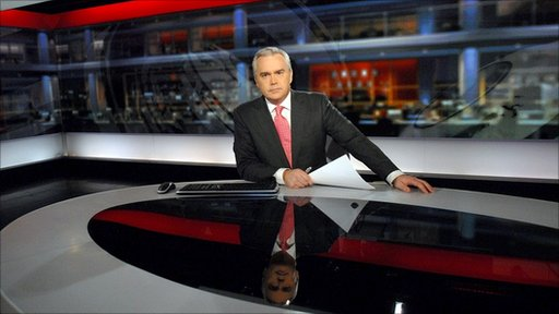 BBC newsreader Huw Edwards