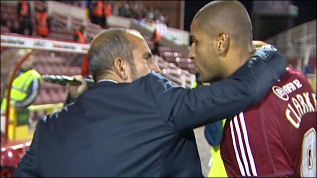 Di Canio in bust-up with own player