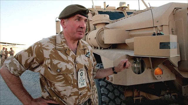 Former British Army head Richard Dannatt