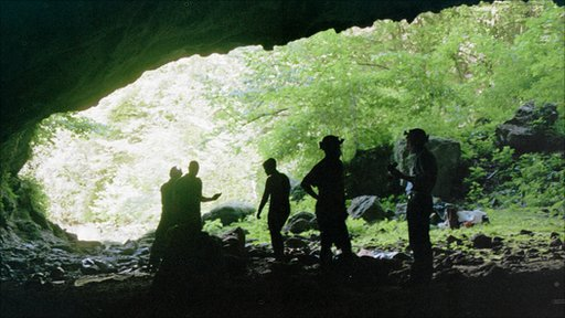 Caving in Croatia