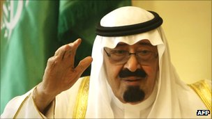 Saudi King Abdullah