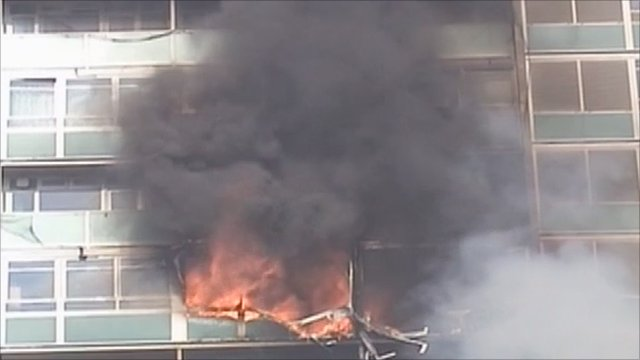 Lakanal tower block fire in 2009