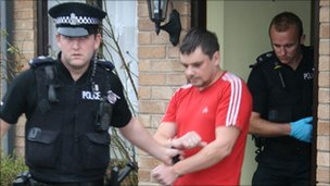 Police arrest Nerijus Lekecinskas