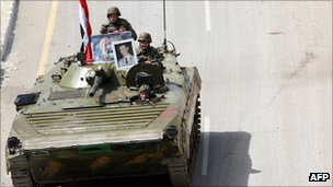 Syrian government sends tanks into cities to quell pro-democracy protests