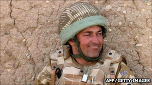 Lt Col Rupert Thorneloe