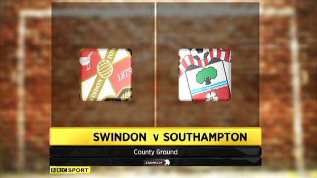 Swindon 1-3 Southampton