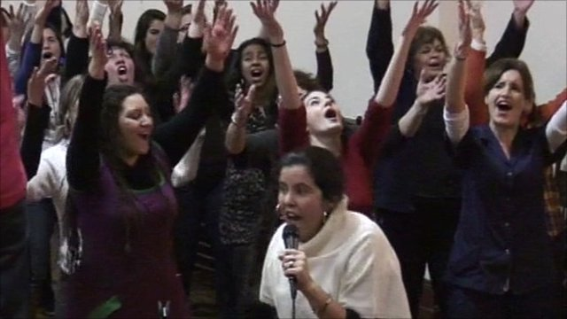 Singers of the American Gospel in Argentina