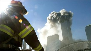 Firefighter at WTC on 9/11