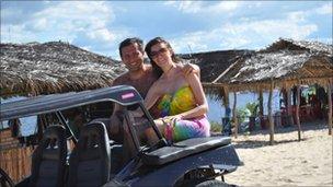 Jennifer Iverson and husband