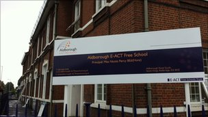 Aldborough E-ACT primary school in Redbridge