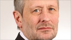 Mayor of Leicester Sir Peter Soulsby