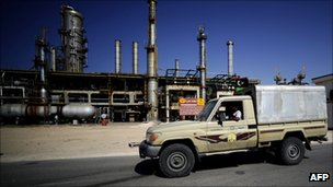 Zawiya oil refinery