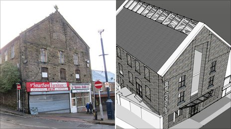 Plans to turn the former Trinity Chapel into an indoor market hall