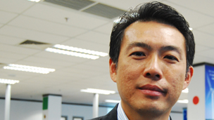 Pang Yee Beng, managing director of Dell Cyberjaya