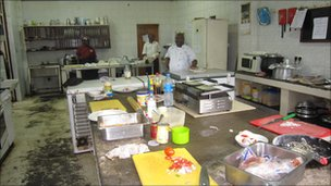 Logali Hotel kitchen