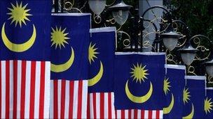 Malaysian flags