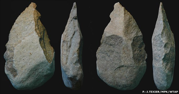 Exciting Stone Tool Find In Kenya Bbc News