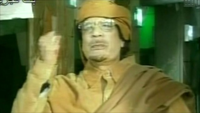 Col Gaddafi in new radio address to Libyan people