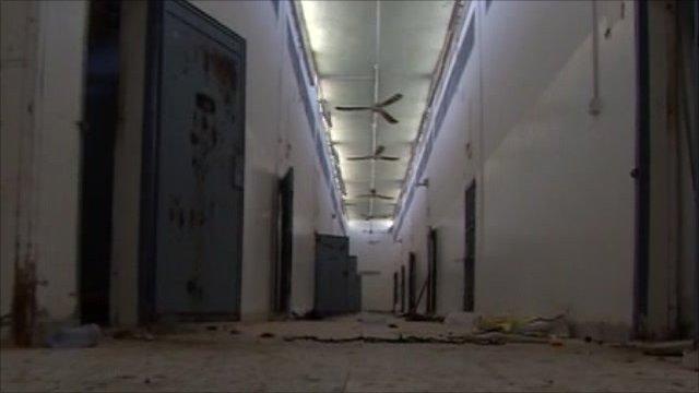 Abu Salim prison in Tripoli